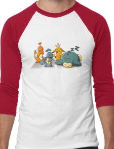 POKEROAD Men's Baseball ¾ T-Shirt