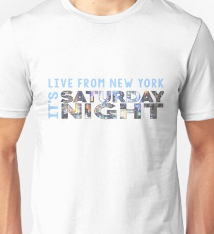 Saturday Night Live (SNL) Skyline Print Unisex T-Shirt