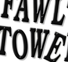 Fawlty Towers Sticker