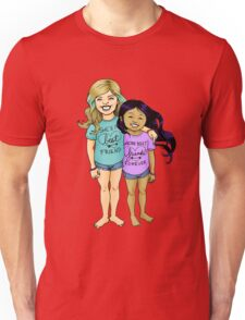 Gracie & Alba - Purple Unisex T-Shirt