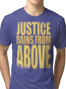 Pharah - Justice Rains from Above Tri-blend T-Shirt