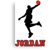 Michael Jordan BasketBall Canvas Print