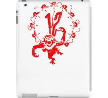 monkey x 12 iPad Case/Skin