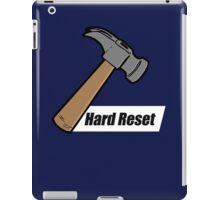 Hard Reset iPad Case/Skin
