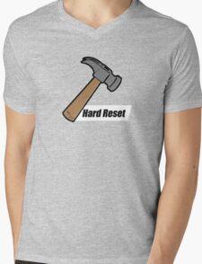 Hard Reset Mens V-Neck T-Shirt