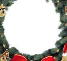 Doge Wreath Sticker