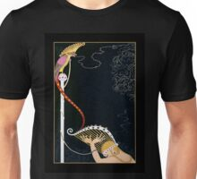 "Art Deco Design by Erte ""Enchanted Melody"" Unisex T-Shirt"