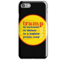 Trump Definition  iPhone Case/Skin