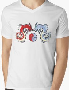 ying-yang-a-dos 2 Mens V-Neck T-Shirt