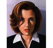 Portrait of Gillian Anderson Photographic Print