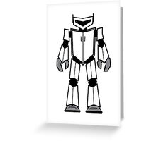 Vectorbot 020 Greeting Card
