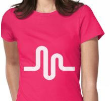 Musical.ly Logo Womens Fitted T-Shirt