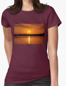 Orange Sunset on the Water T-Shirt
