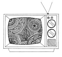 Television Photographic Print
