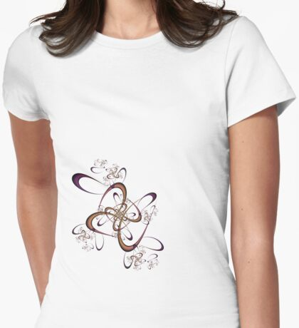 Feelin' Knotty Womens Fitted T-Shirt