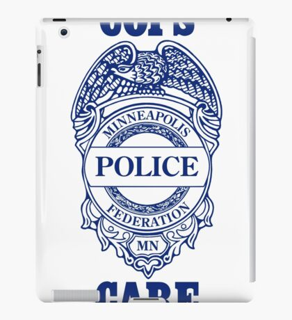 Cops Care iPad Case/Skin