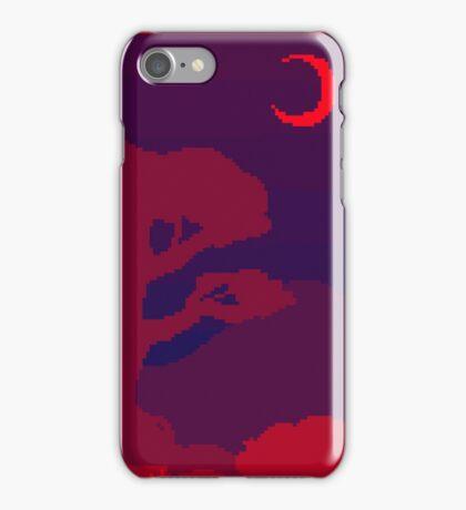 Pixel Night iPhone Case/Skin