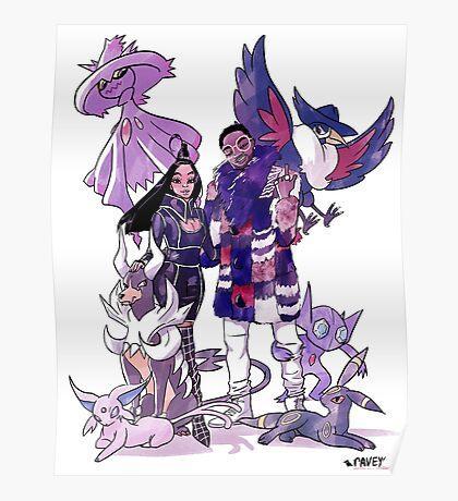 Atlanta Gym Leaders Poster