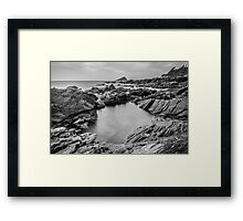 Wembury Beach, Devon, UK. Framed Print