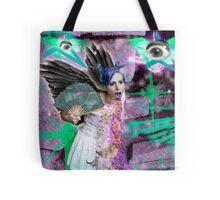 Kitty Glitter Tote Bag