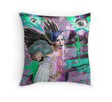 Kitty Glitter Throw Pillow