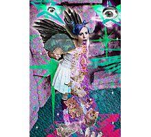 Kitty Glitter Photographic Print
