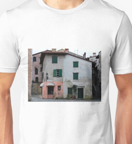 Buildings in Grado Unisex T-Shirt