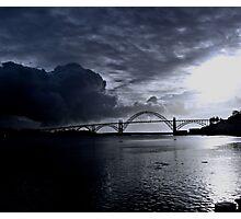 NEWPORT BAY BRIDGE Photographic Print