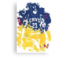 Epic Basketball Players 003 Canvas Print