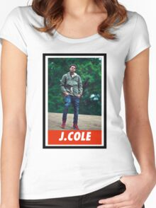 J.Cole Women's Fitted Scoop T-Shirt