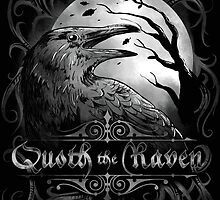 Quoth The Raven t-shirt by os-frontis