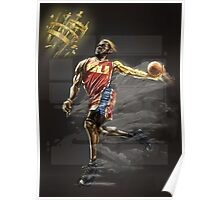 Epic Basketball Players 008 Poster