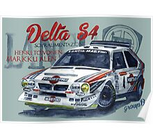 Rally Group B-Lancia Delta S4 Poster