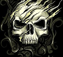Skull Os Frontis t-shirt by os-frontis