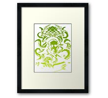 cthulhu lovecraft Framed Print