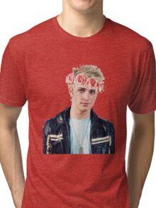 flower crown dalton Tri-blend T-Shirt