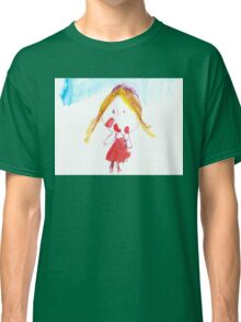 little Princess - child's drawing Classic T-Shirt