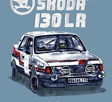Rally Group B-Škoda 130 LR by dareba
