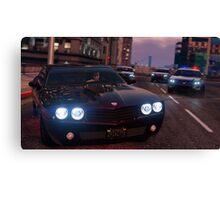 Grand Theft Auto 5 Canvas Print