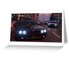 Grand Theft Auto 5 Greeting Card
