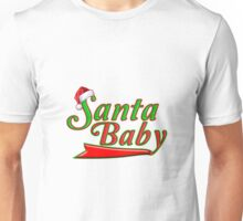 Cool Kris Kringle Santa Baby - Unique Green and Red Santa Clause Hat Christmas Sports T-Shirt Unisex T-Shirt
