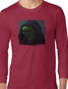 Kermit meme Long Sleeve T-Shirt