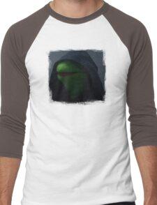 Kermit meme Men's Baseball ¾ T-Shirt