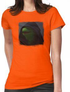 Kermit meme Womens Fitted T-Shirt