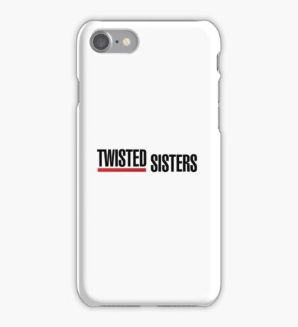 Grey's Anatomy - Twisted Sisters iPhone Case/Skin