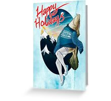 Festive Atlantic Cod Holiday Cards Greeting Card
