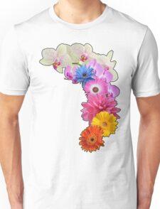 Flowery Love Unisex T-Shirt