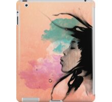 Psychedelic Blow Japanese Girl iPad Case/Skin