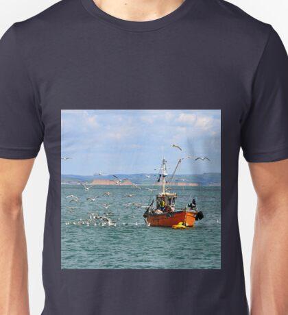 Feast For Gulls- Lyme Regis, Dorset Unisex T-Shirt