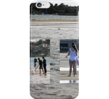 In the river! On the shore! I used to have my pupils 'play that game'!!  iPhone Case/Skin